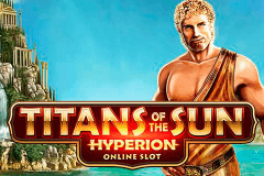 logo titans of the sun hyperion microgaming gokkast spelen