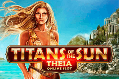 logo titans of the sun theia microgaming gokkast spelen