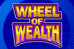 logo wheel of wealth microgaming gokkast spelen