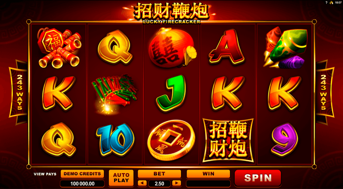 lucky firecracker microgaming casino gokkasten