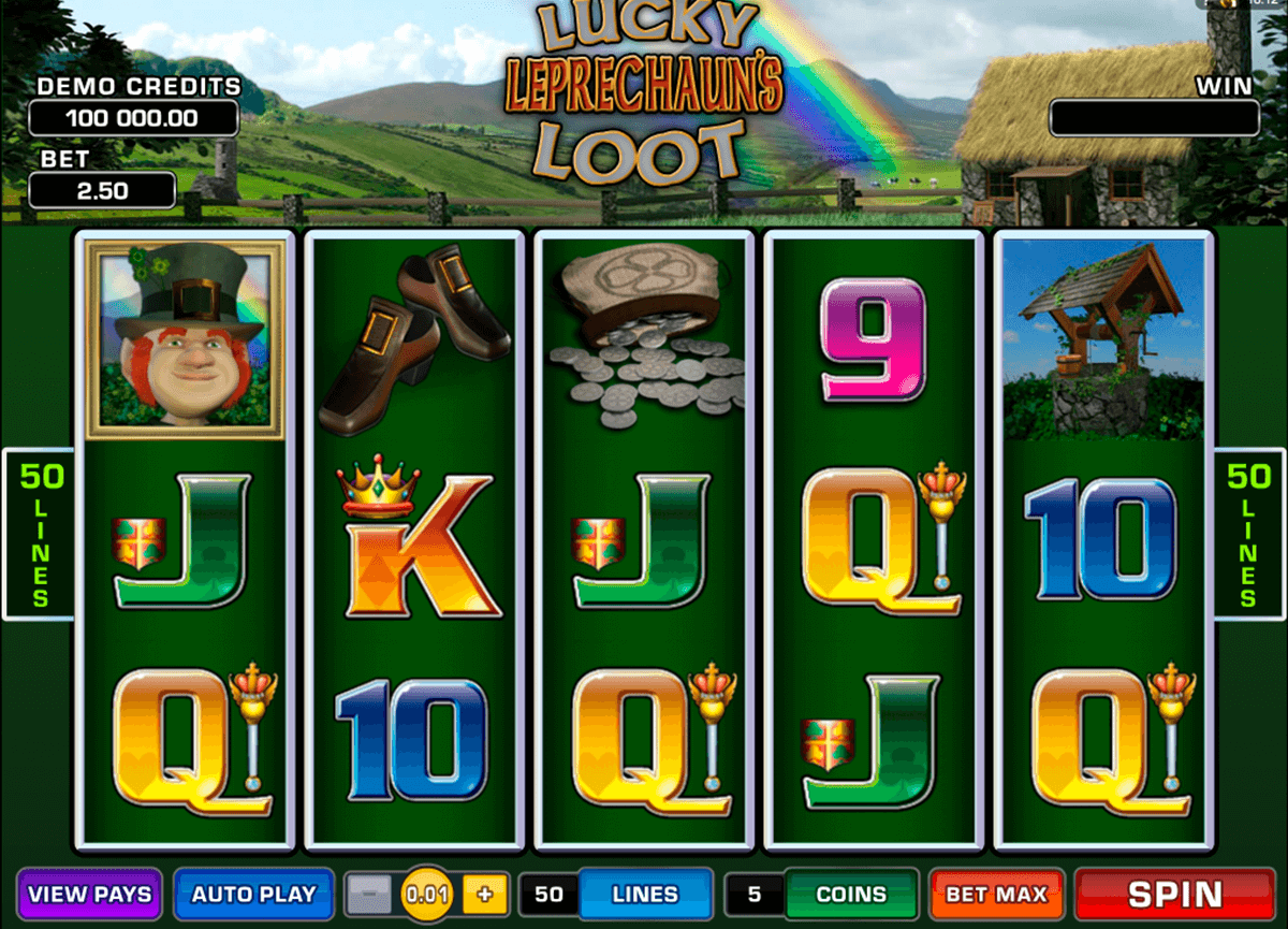 lucky leprechauns loot microgaming casino gokkasten