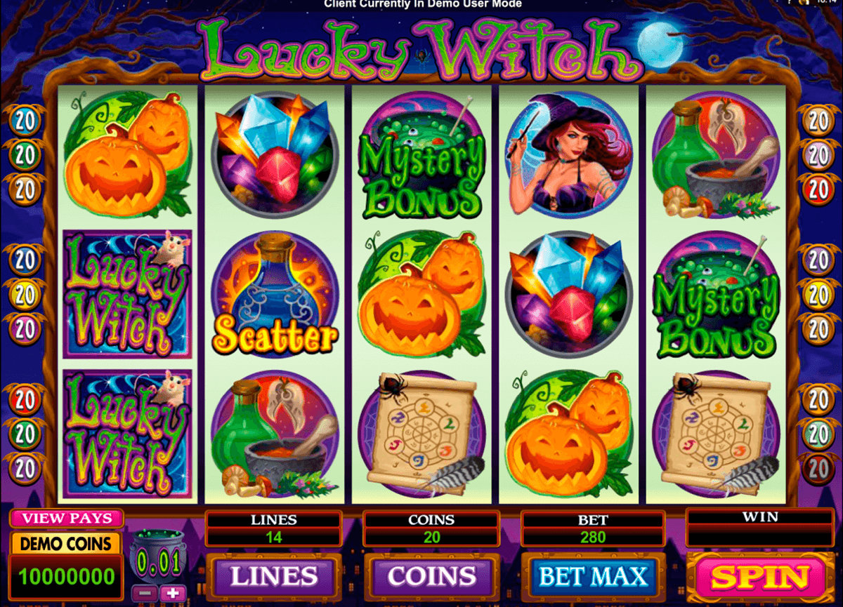 lucky witch microgaming casino gokkasten