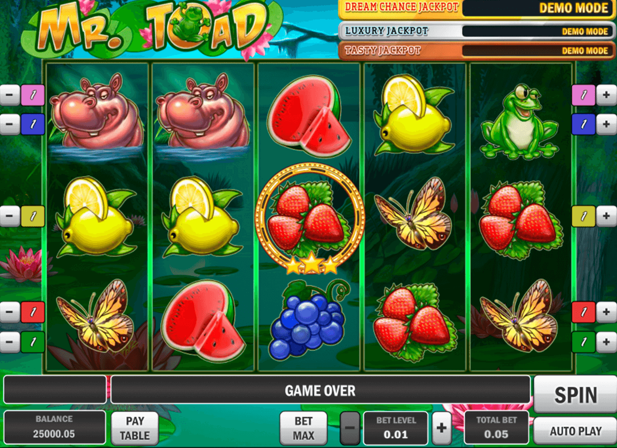 mr toad playn go casino gokkasten