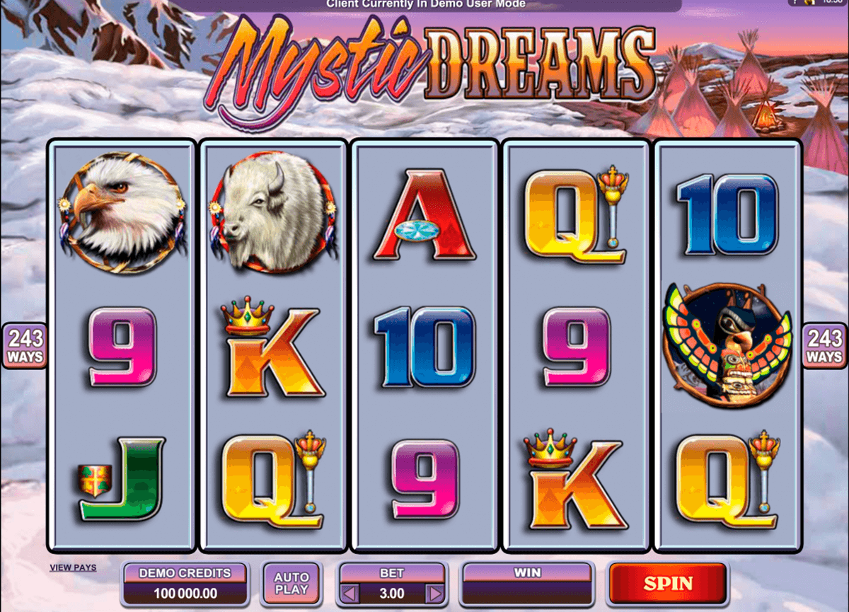 mystic dreams microgaming casino gokkasten