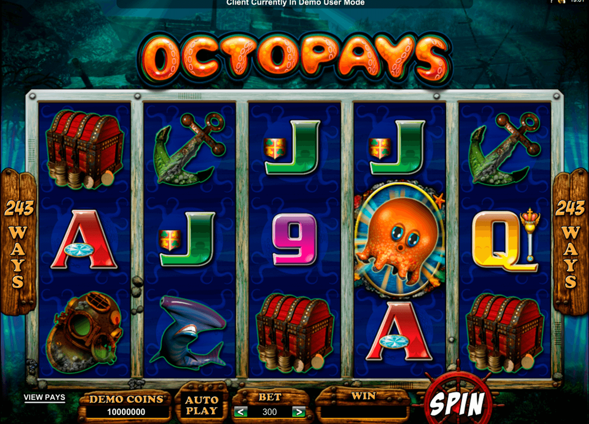 octopays microgaming casino gokkasten