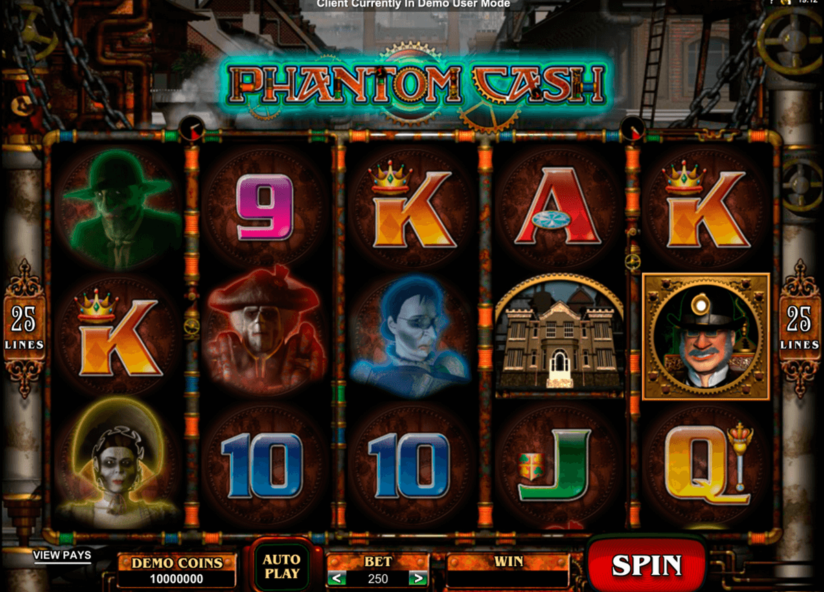 phantom cash microgaming casino gokkasten