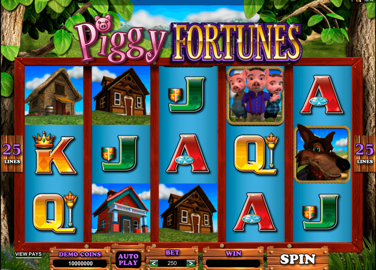 piggy fortunes microgaming casino gokkasten