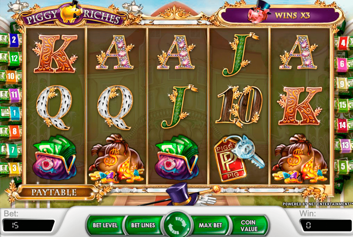 piggy riches netent casino gokkasten