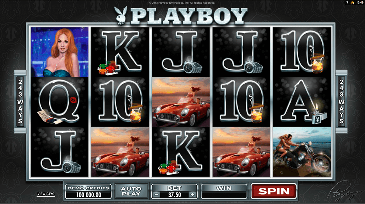 playboy microgaming casino gokkasten