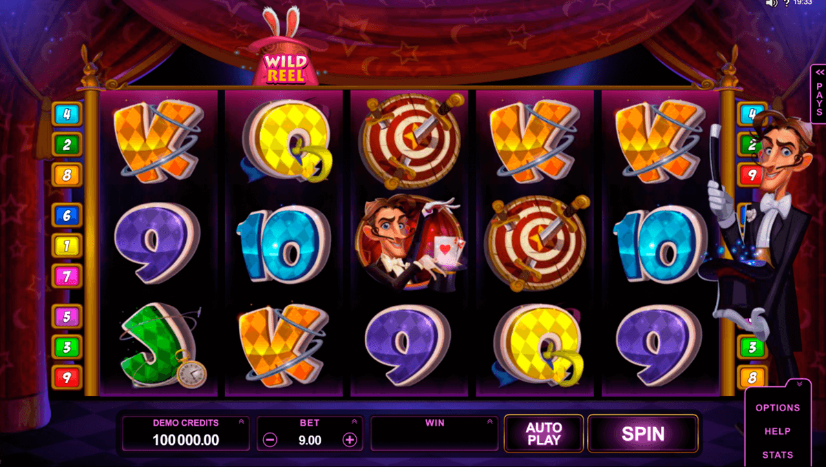 rabbit in the hat microgaming casino gokkasten