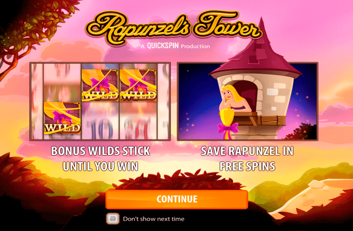 rapunzels tower quickspin casino gokkasten