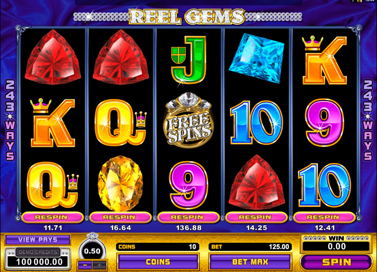 reel gems microgaming casino gokkasten