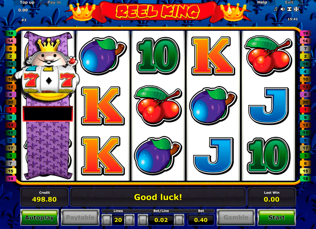 reel king novomatic casino gokkasten