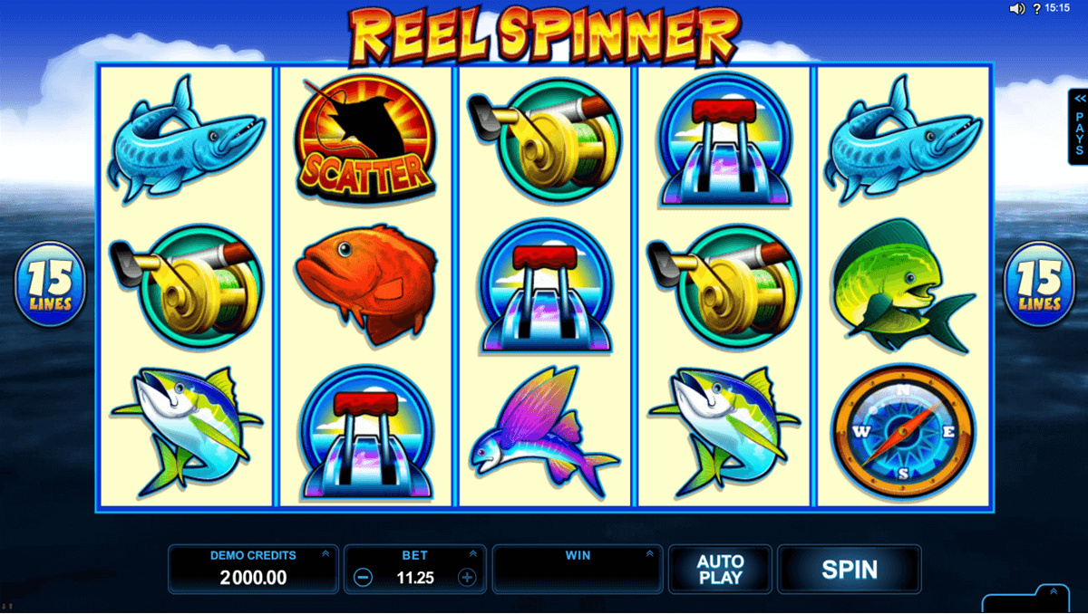 reel spinner microgaming casino gokkasten