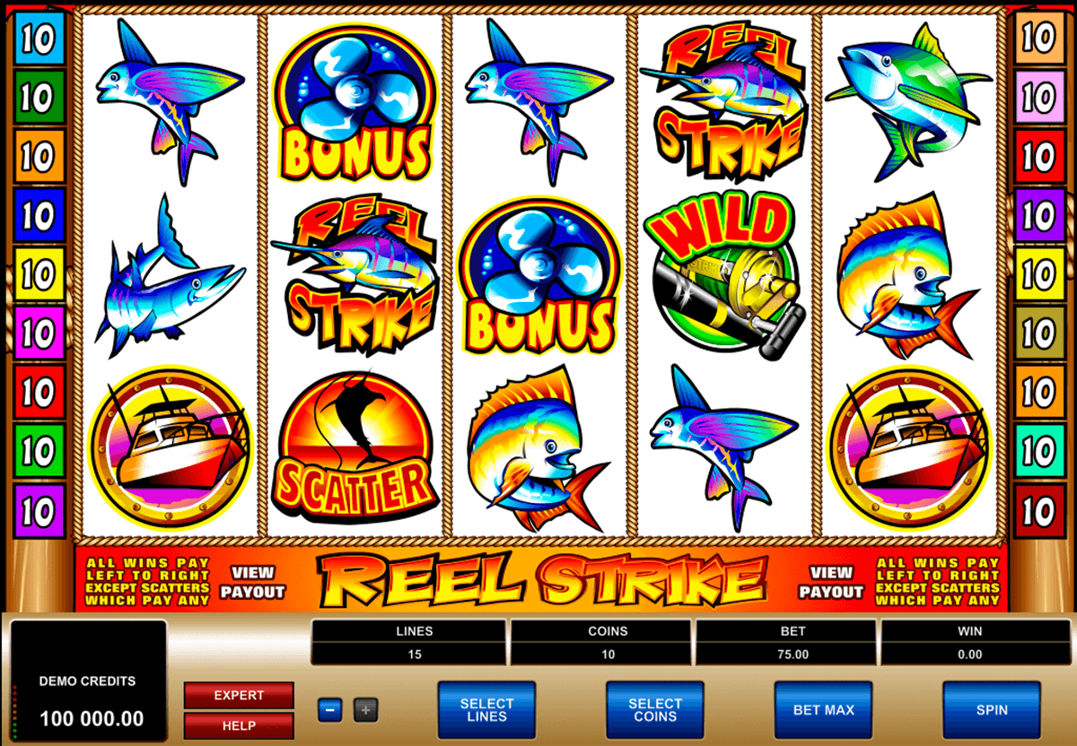 reel strike microgaming casino gokkasten