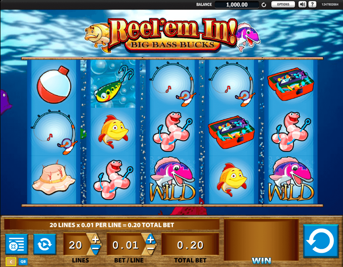 reelem in big bass bucks wms casino gokkasten