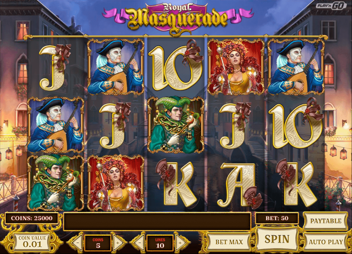 royal masquerade playn go casino gokkasten
