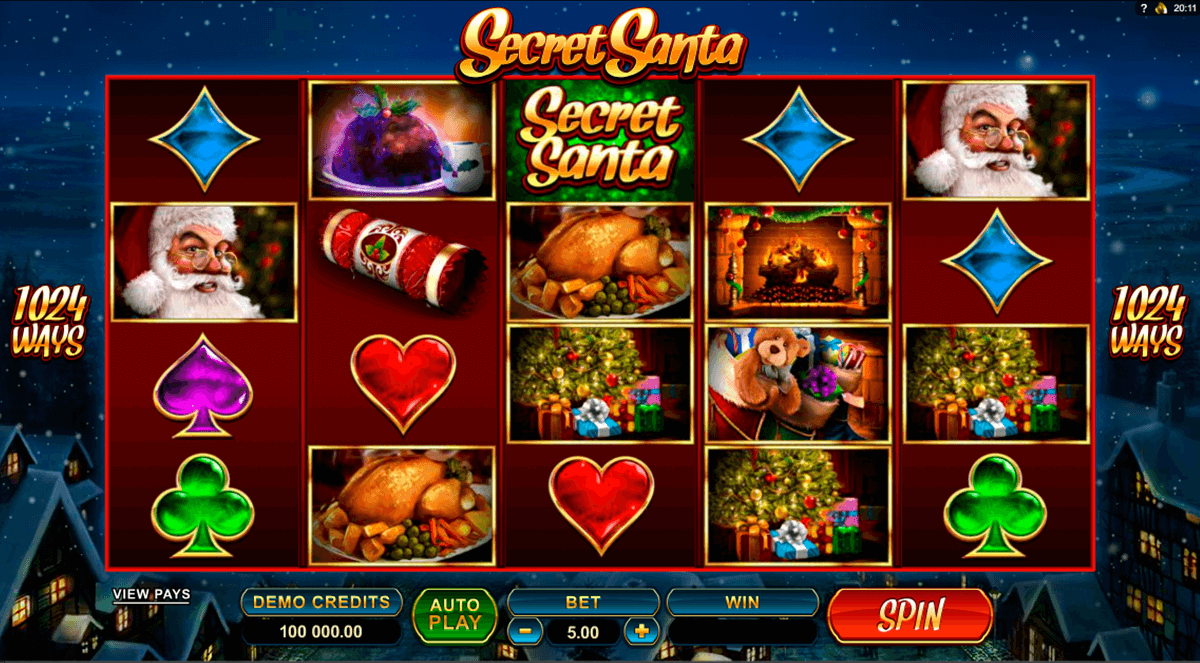 secret santa microgaming casino gokkasten