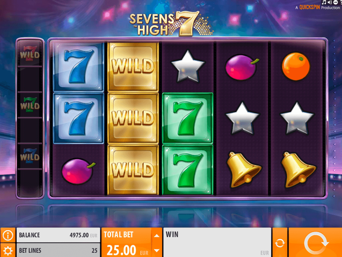 sevens high quickspin casino gokkasten