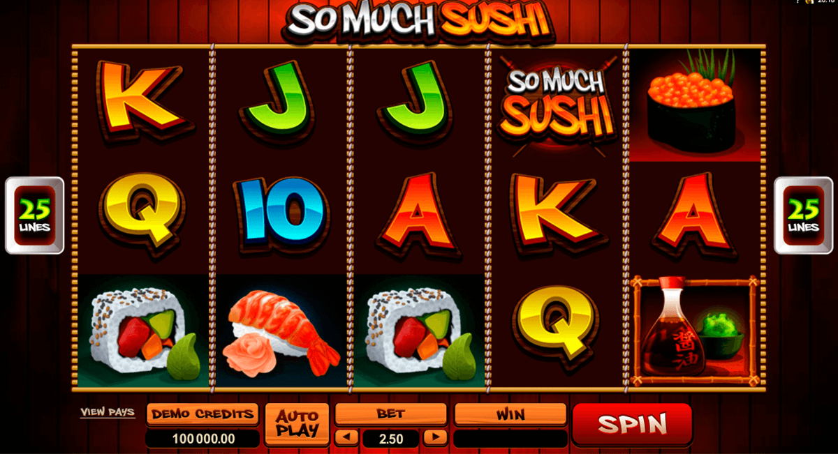 so much sushi microgaming casino gokkasten