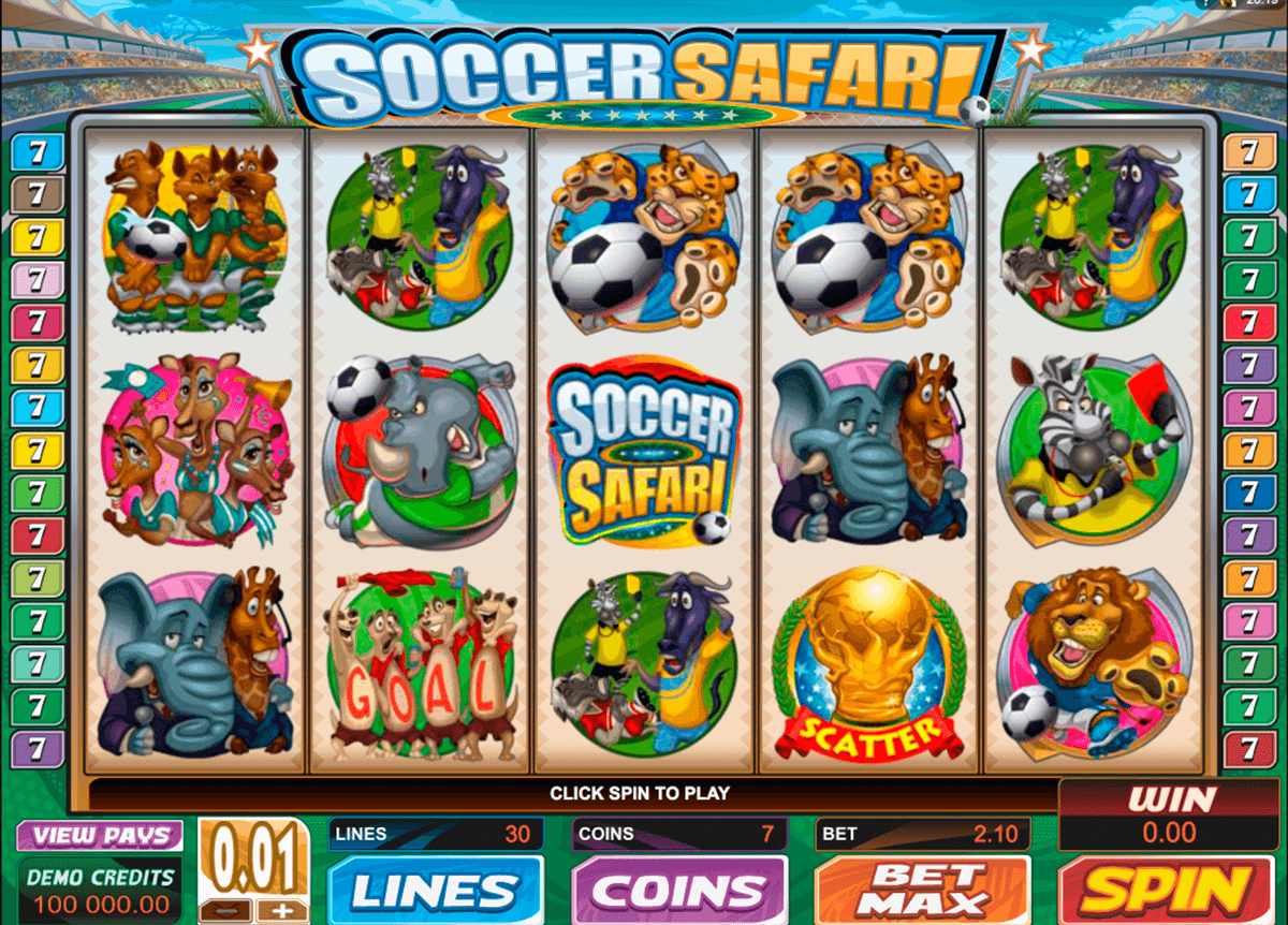 soccer safari microgaming casino gokkasten