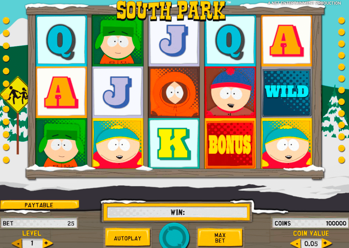 south park netent casino gokkasten