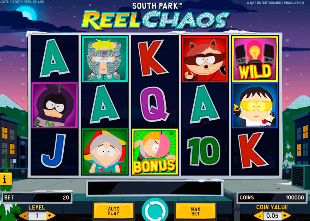 south park reel chaos netent casino gokkasten