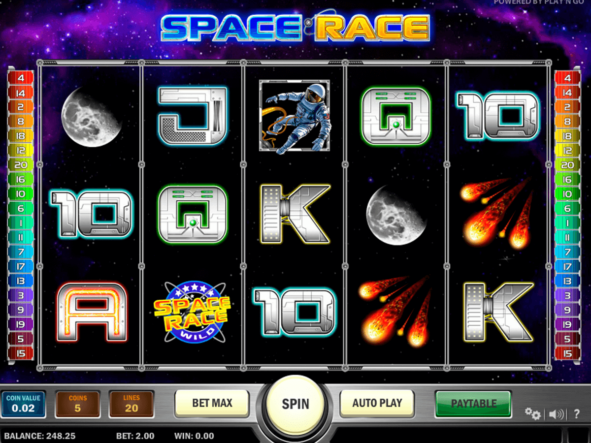 space race playn go casino gokkasten