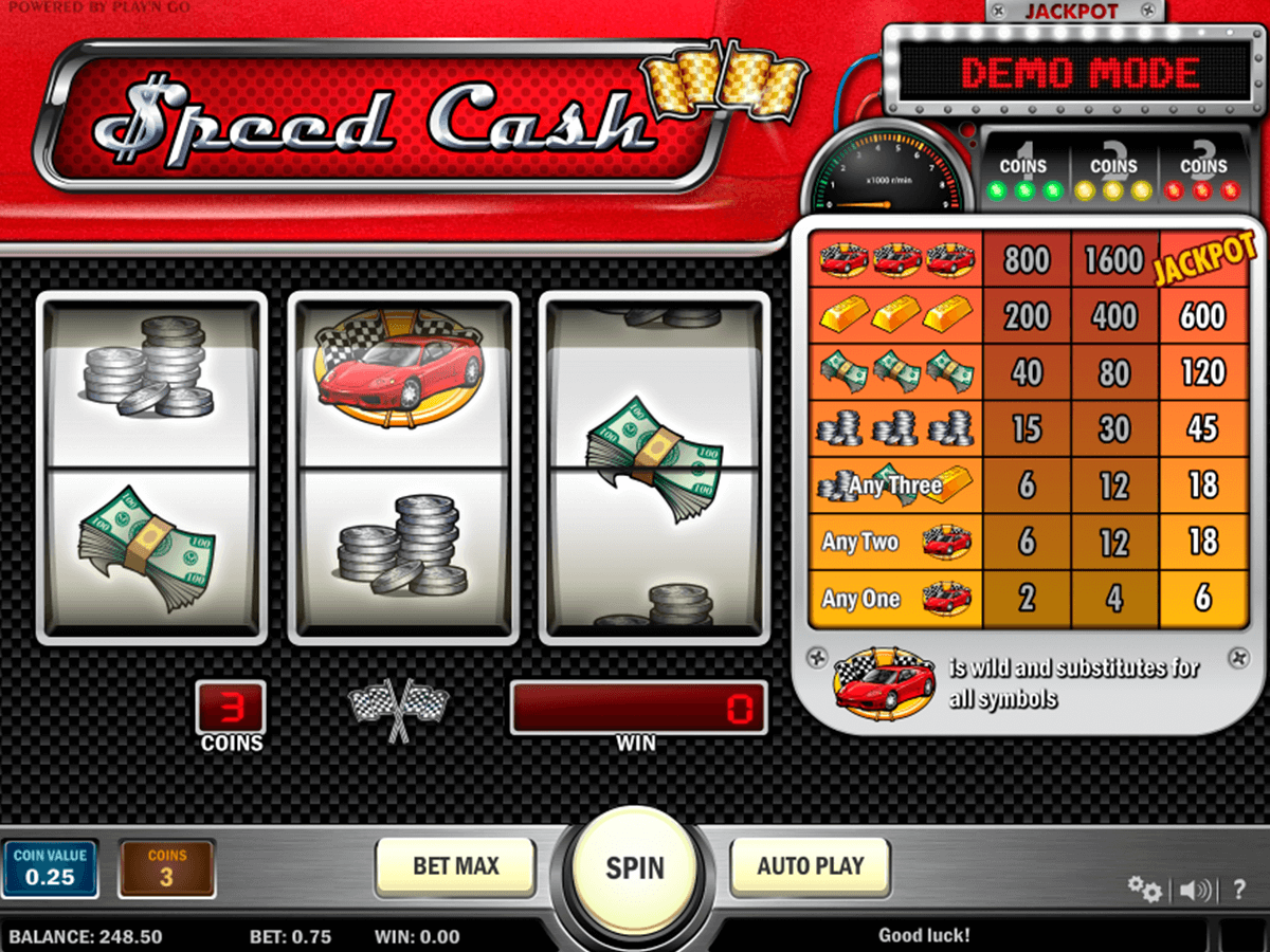 speed cash playn go casino gokkasten