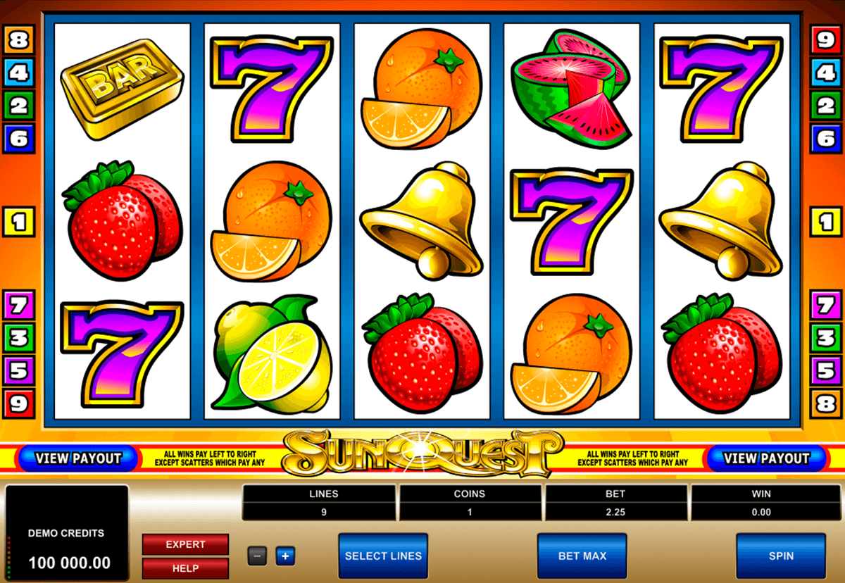 sunquest microgaming casino gokkasten