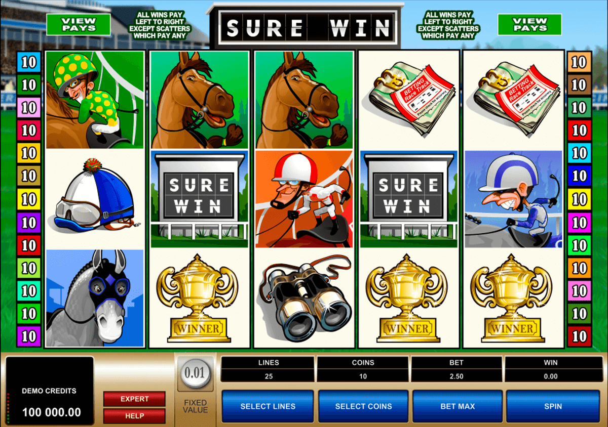 sure win microgaming casino gokkasten