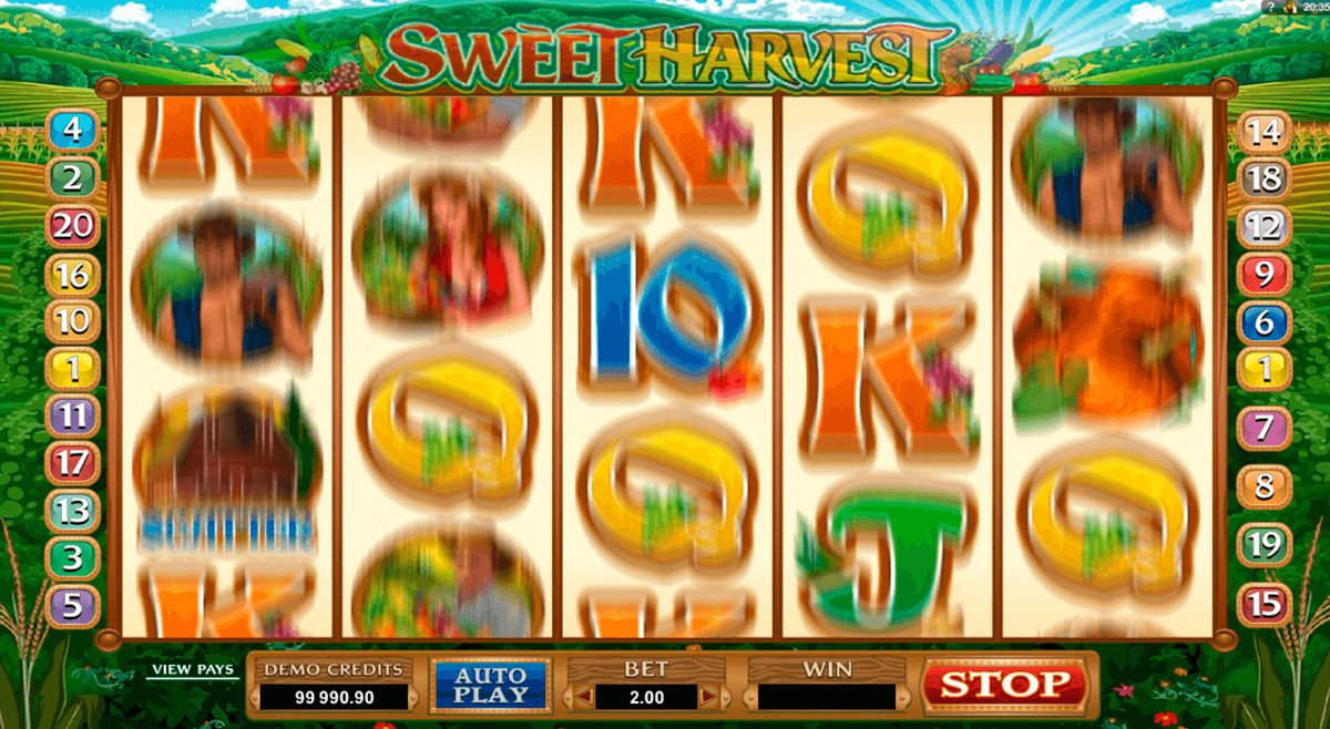 sweet harvest microgaming casino gokkasten