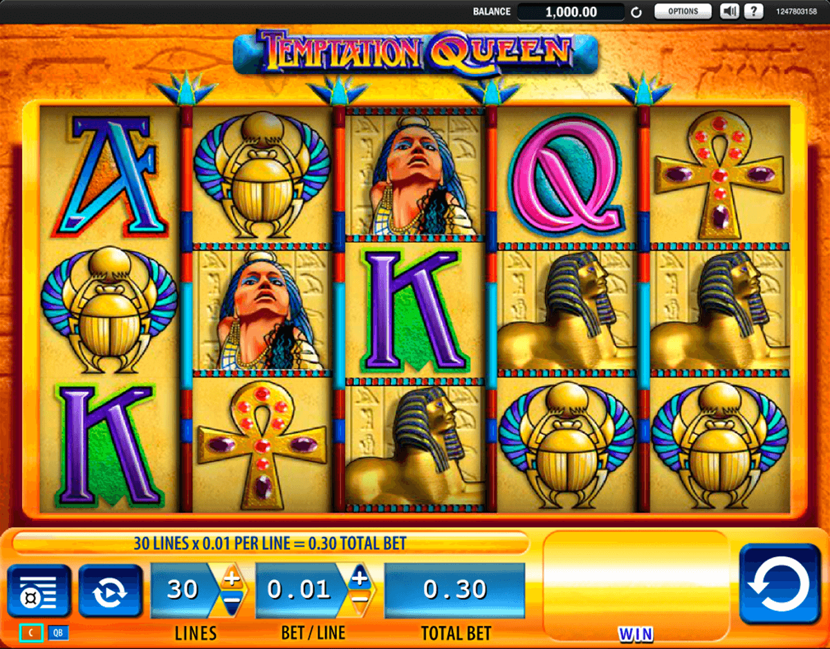 temptation queen wms casino gokkasten