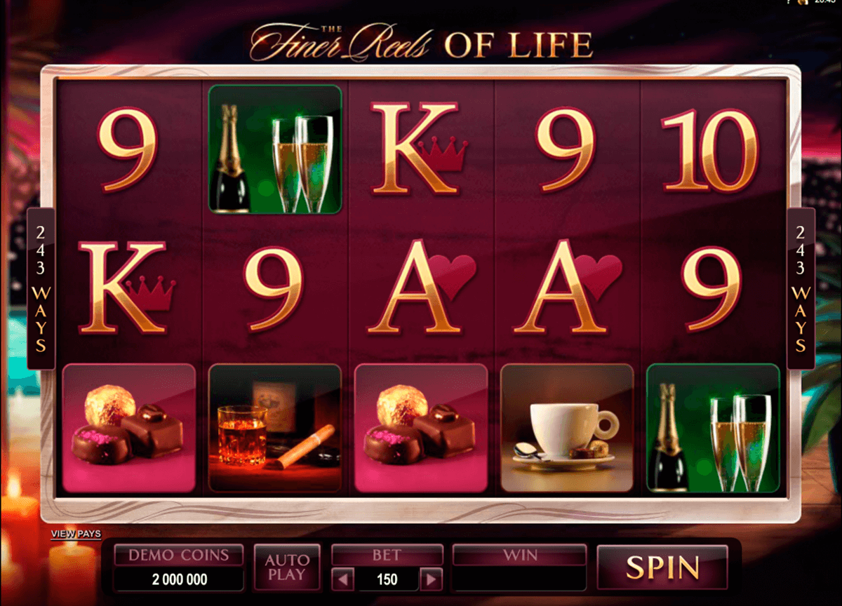 the finer reels of life microgaming casino gokkasten