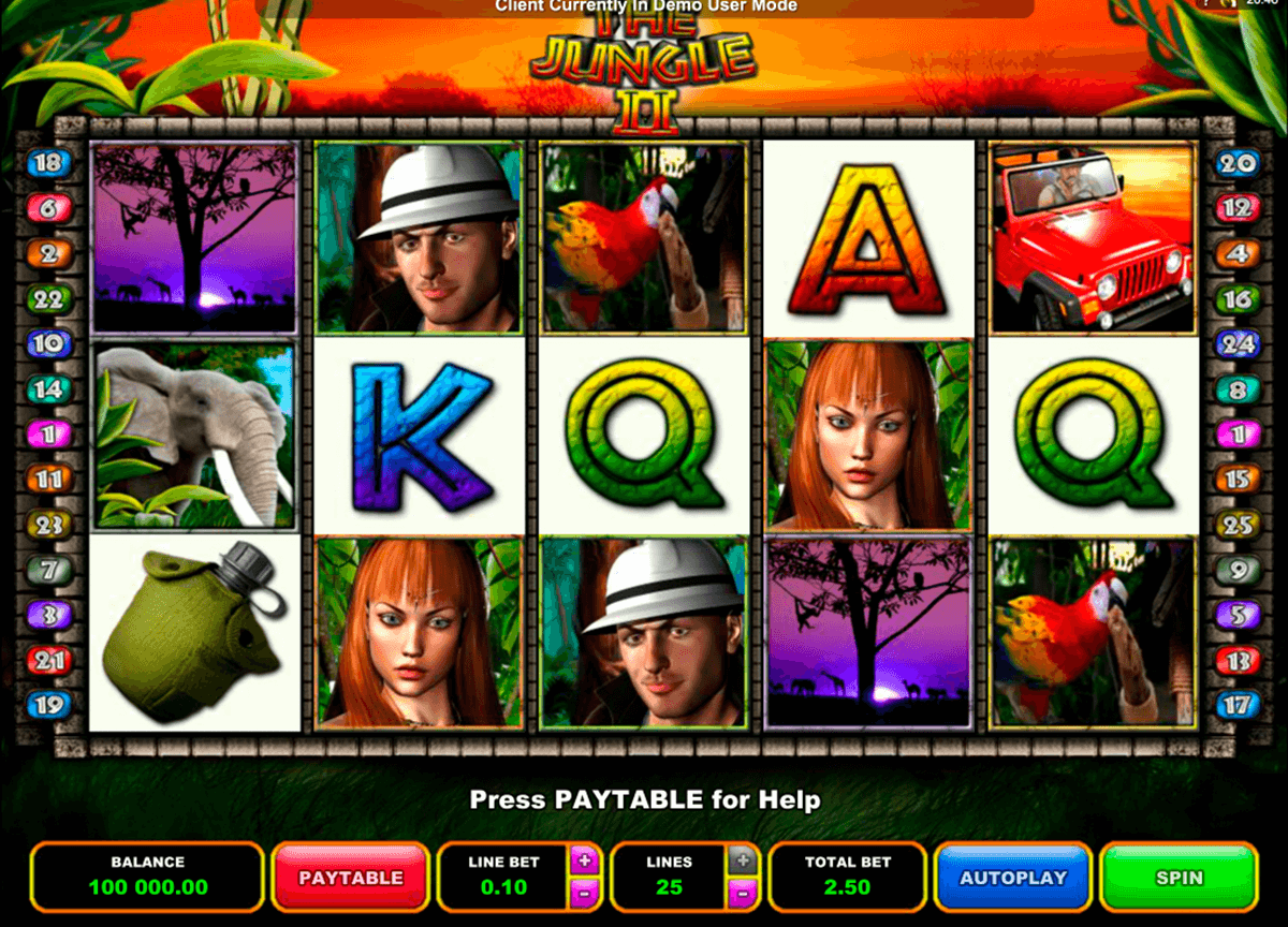 the jungle ii microgaming casino gokkasten