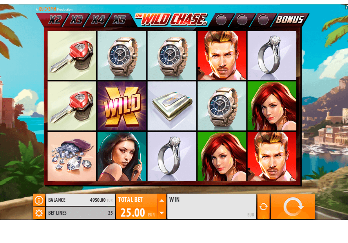 the wild chase quickspin casino gokkasten