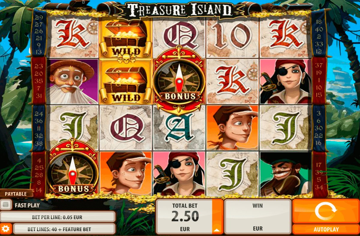 treasure island quickspin casino gokkasten