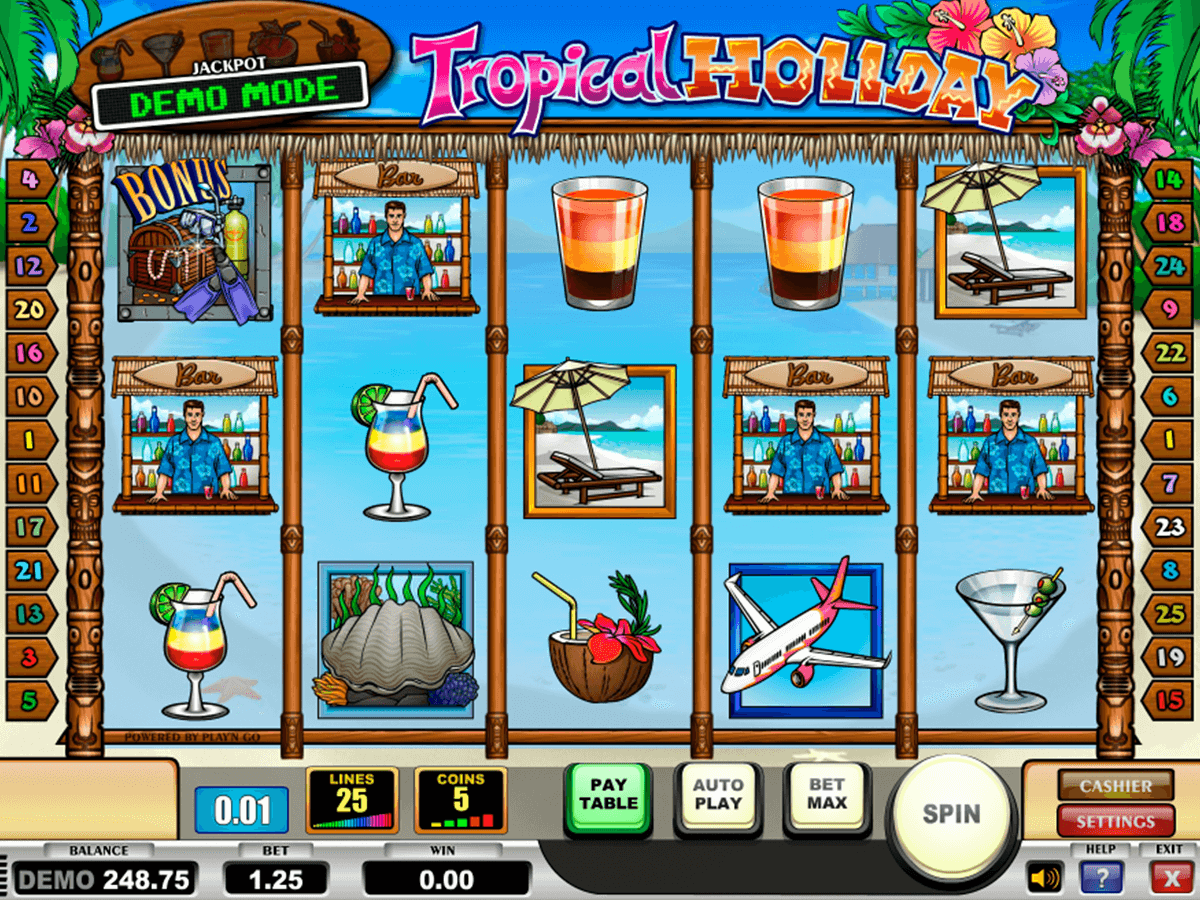tropical holiday playn go casino gokkasten