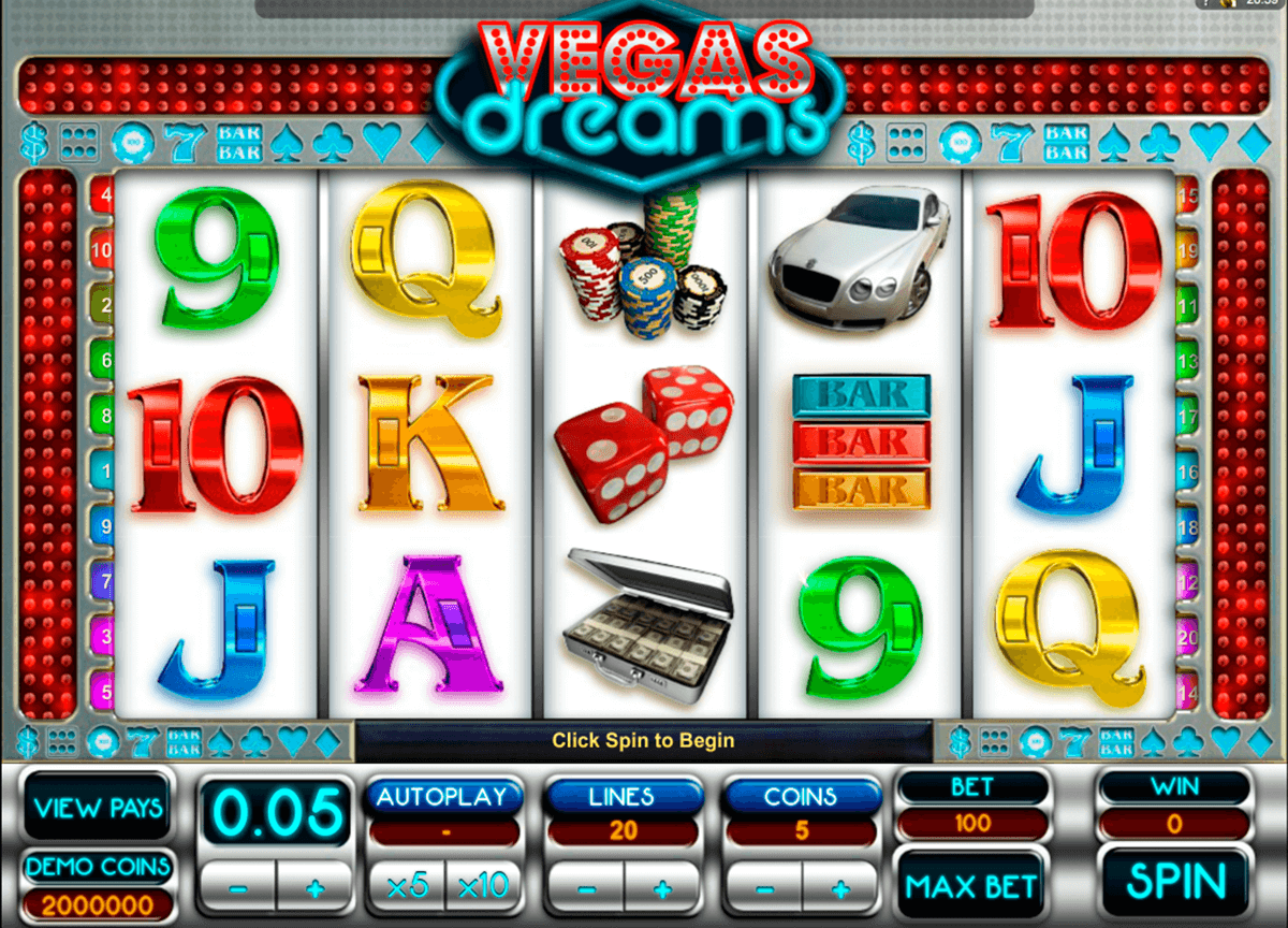 vegas dreams microgaming casino gokkasten