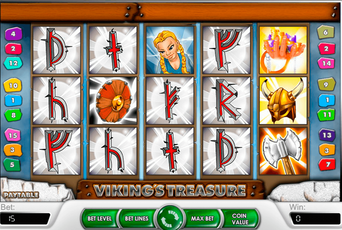 vikings treasure netent casino gokkasten
