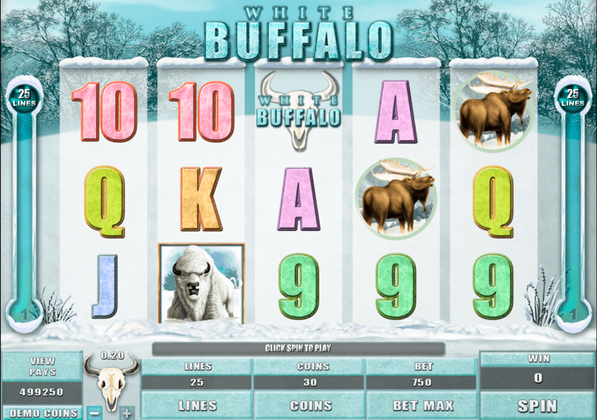 white buffalo microgaming casino gokkasten
