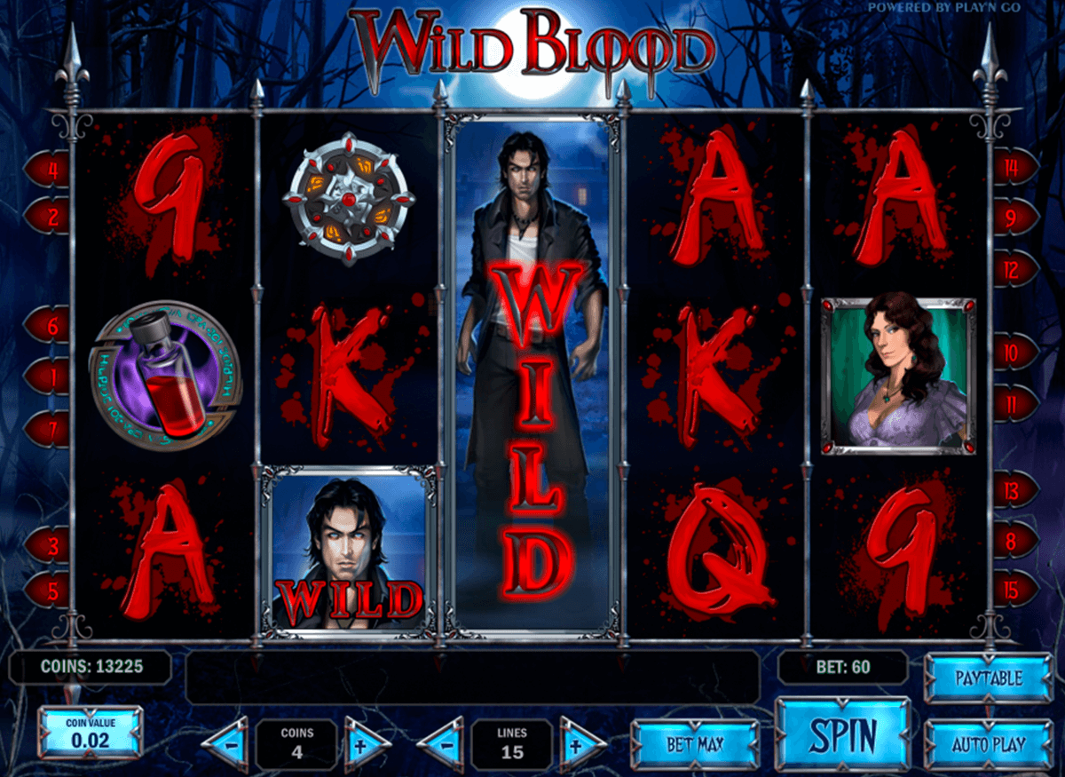 wild blood playn go casino gokkasten