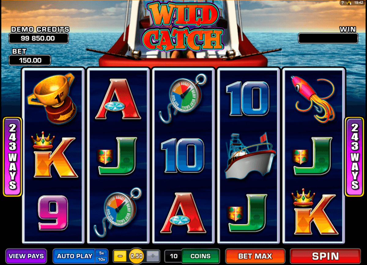 wild catch microgaming casino gokkasten
