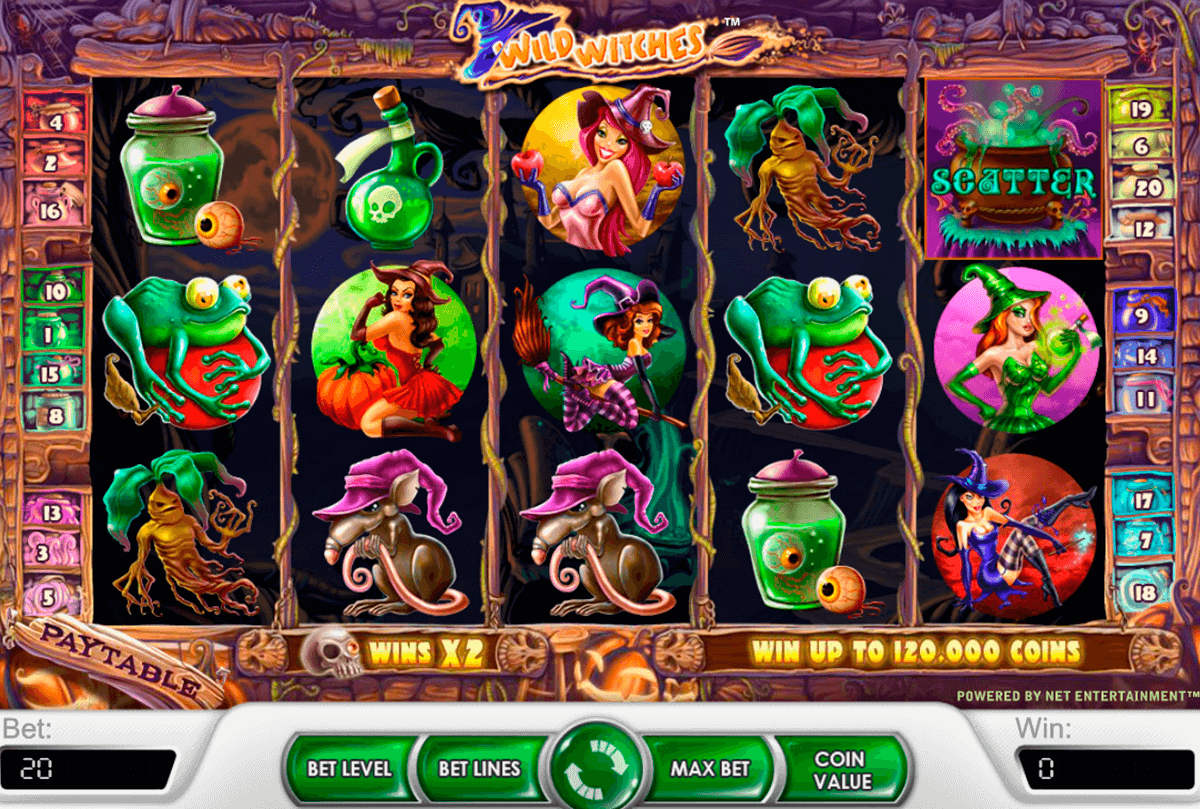 wild witches netent casino gokkasten