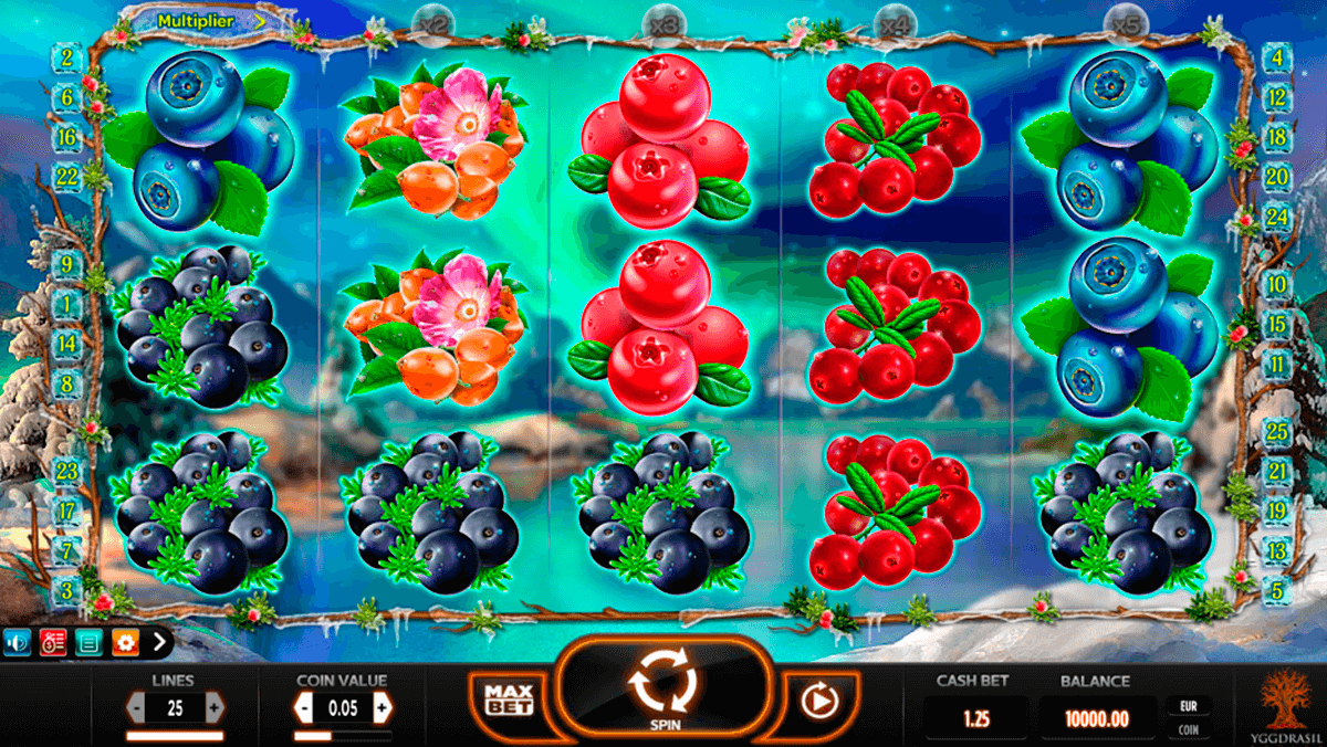 winterberries yggdrasil casino gokkasten