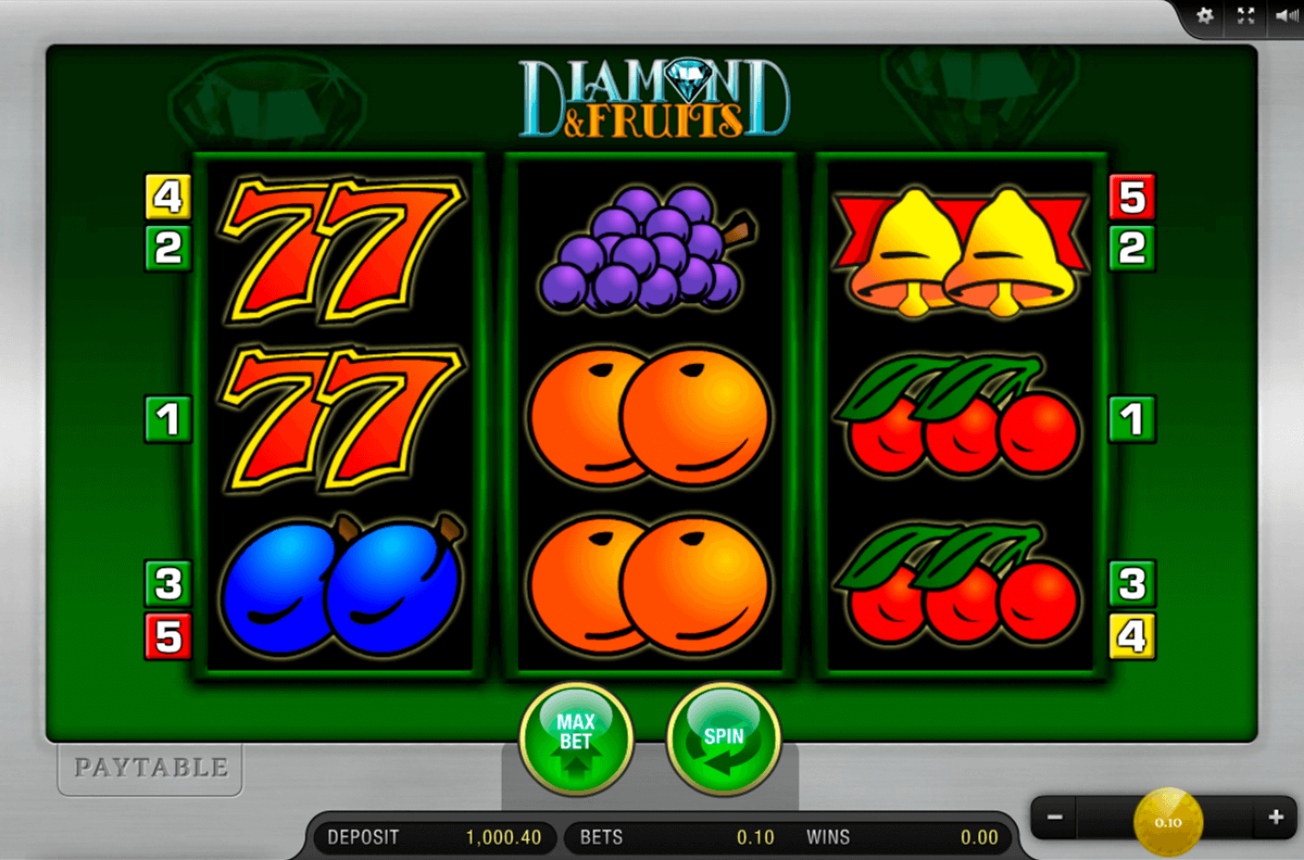 diamond and fruits merkur casino gokkasten
