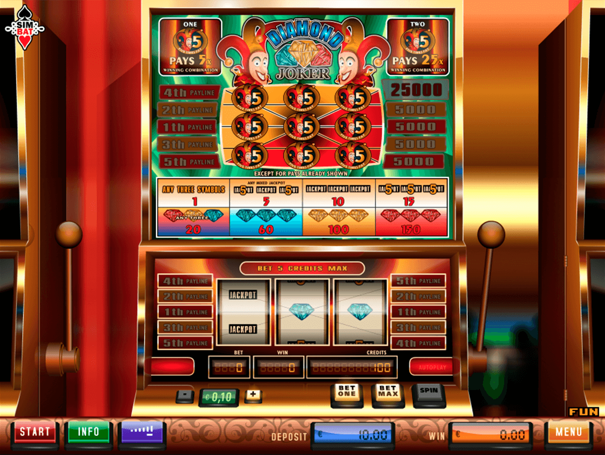 diamond joker simbat casino gokkasten