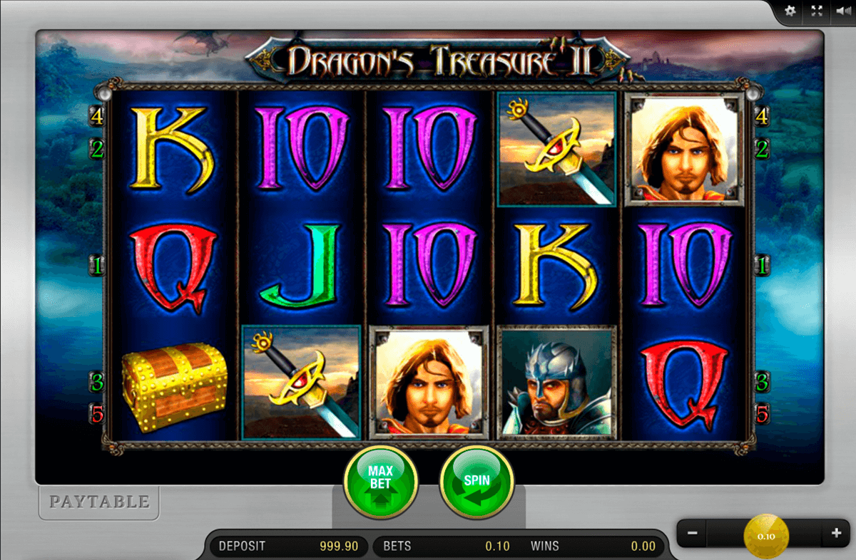 dragons treasure ii merkur casino gokkasten