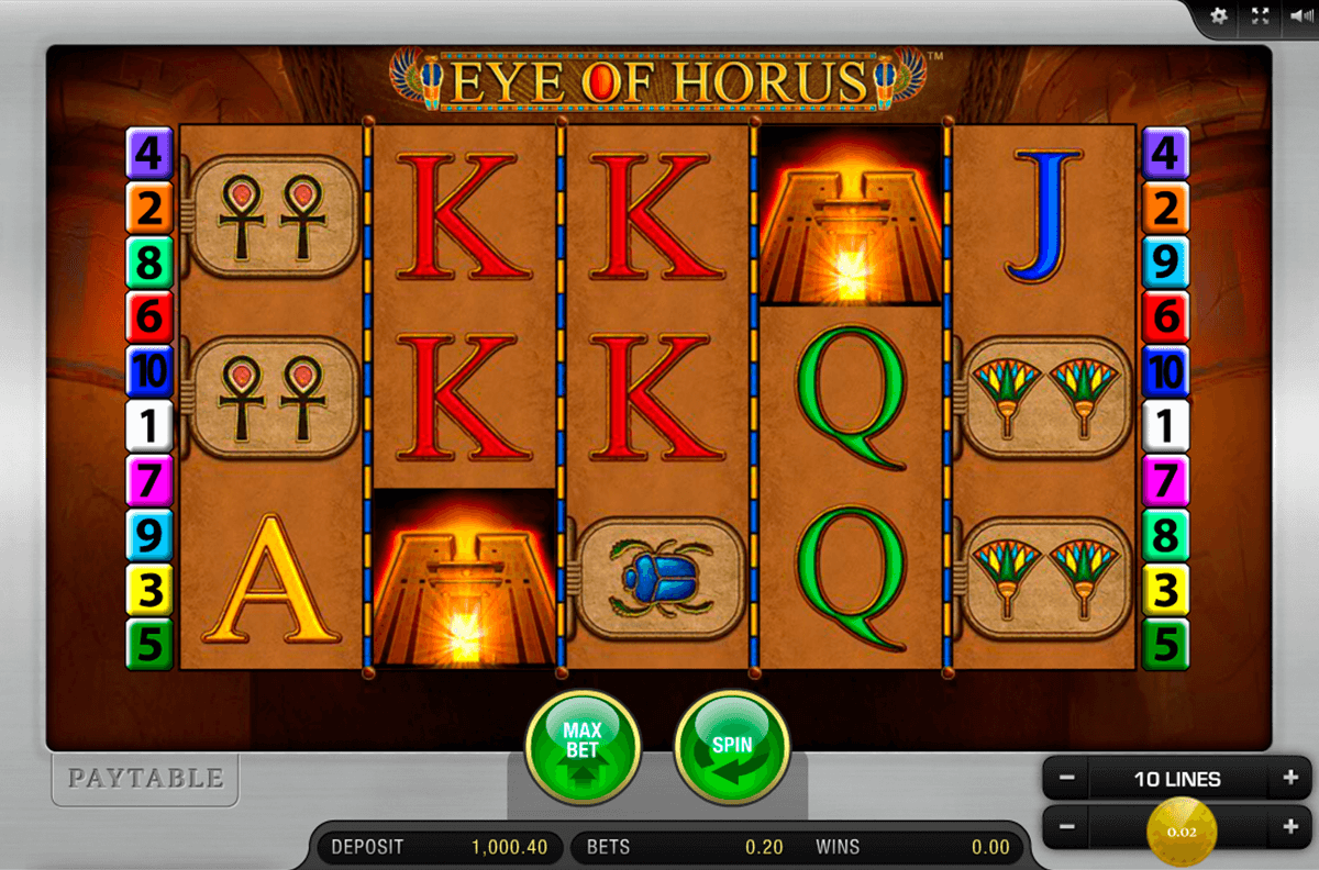 eye of horus merkur casino gokkasten