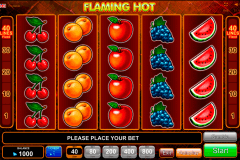 flaming hot egt casino gokkasten